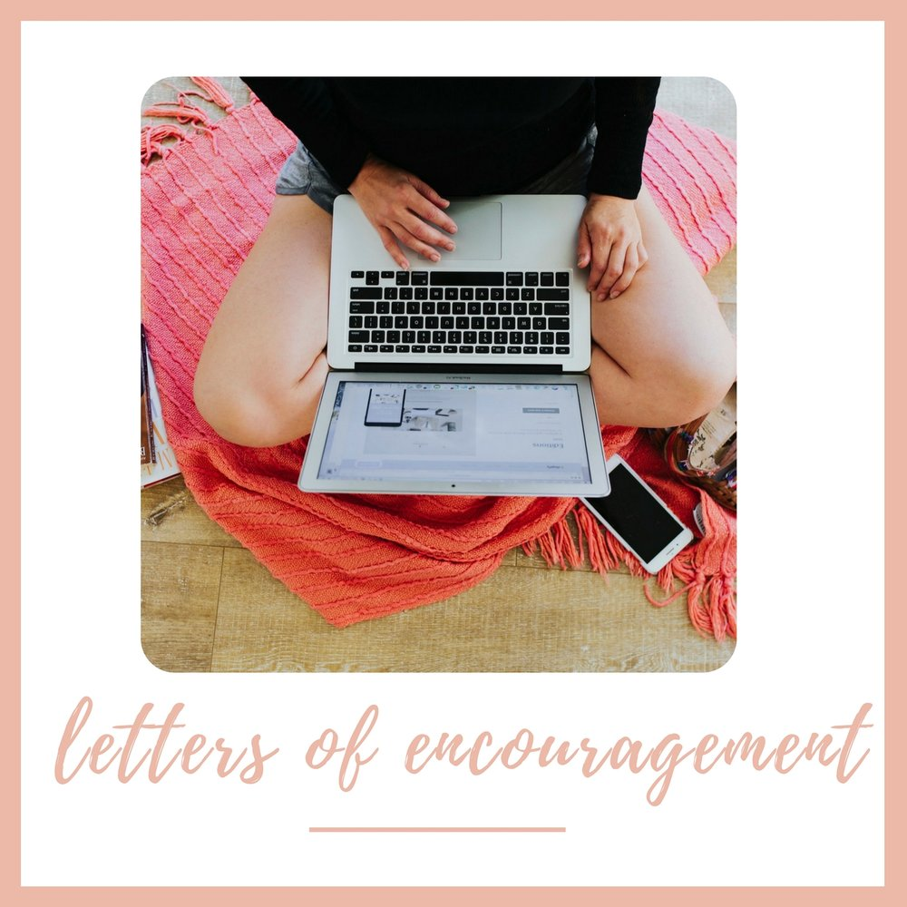 Read personal letters from Katie where she reflects on her experiences  and provides you with the encouragement you need to succeed.