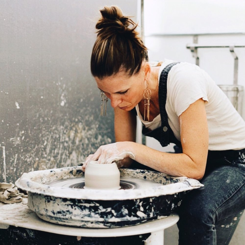 CLAY & CRAFT - NICOLE NOVENAAn East coaster at heart and creativity running through her genes , Nicole is the master potter behind Clay & Craft. Nicole has spent 20+ years in pottery exploration and trust us, you will be drooling over her incredible talent