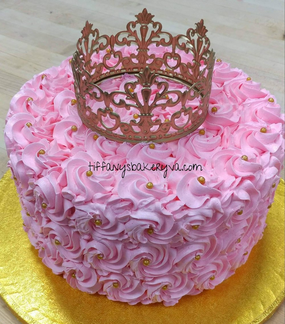 Princess Swirl w/ Crown Topper