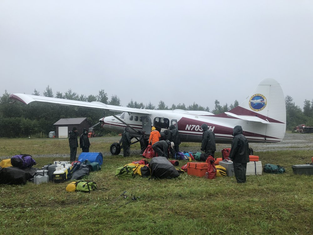 The small bush-plane that was able to come to our rescue without using instruments.