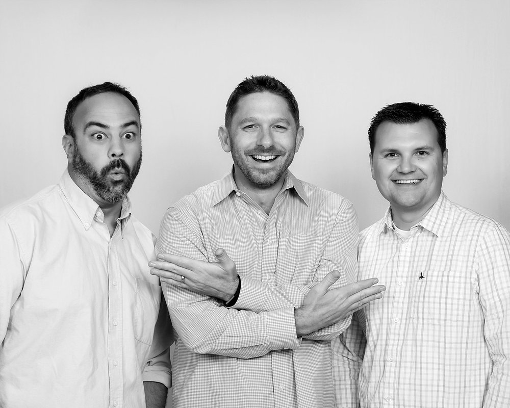 Wonderstorm Co-Founders:  Justin Richmond, Aaron Ehasz, Justin Santistevan