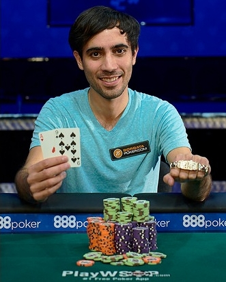 Winner of 2016 WSOP event 25 $2500 NL Holdem