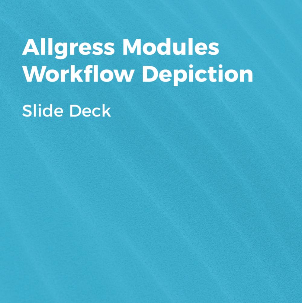 Allgress Modules Workflow