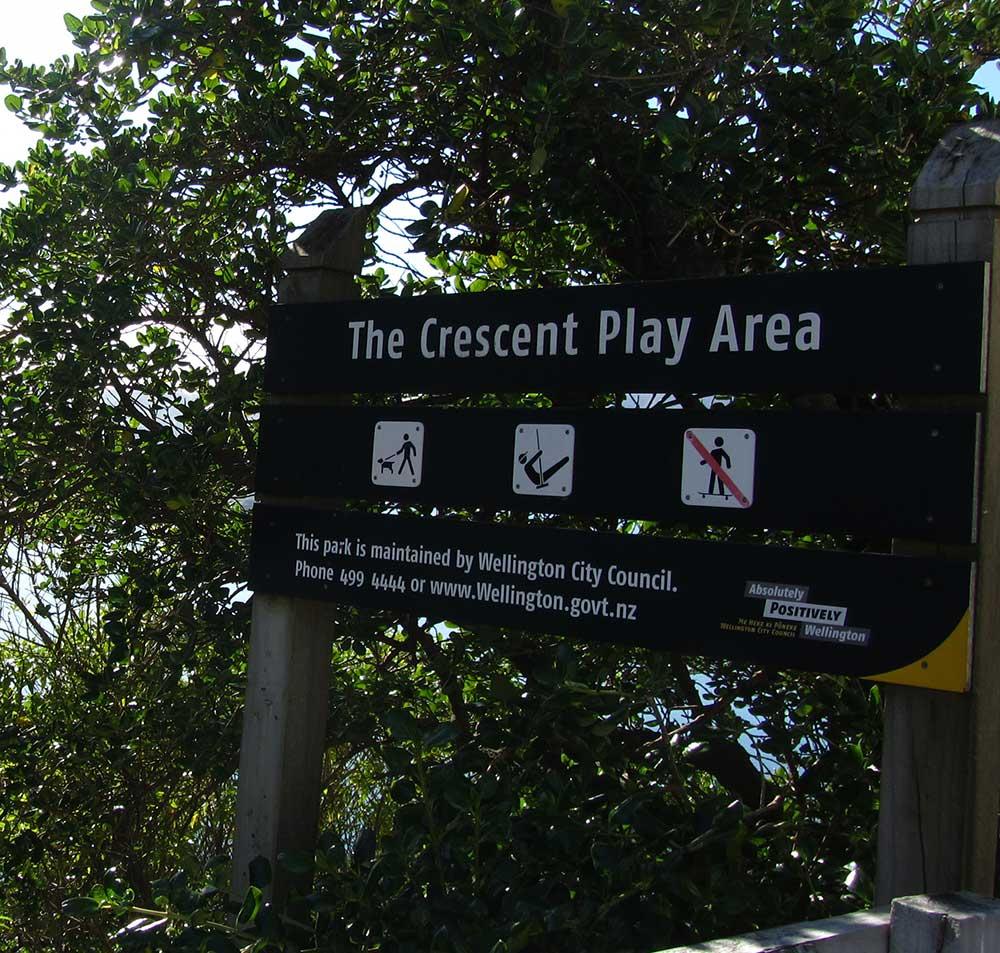 The Crescent Play Area, Roseneath