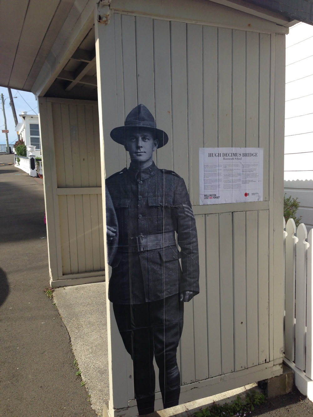 WWI Wall Stories in Roseneath
