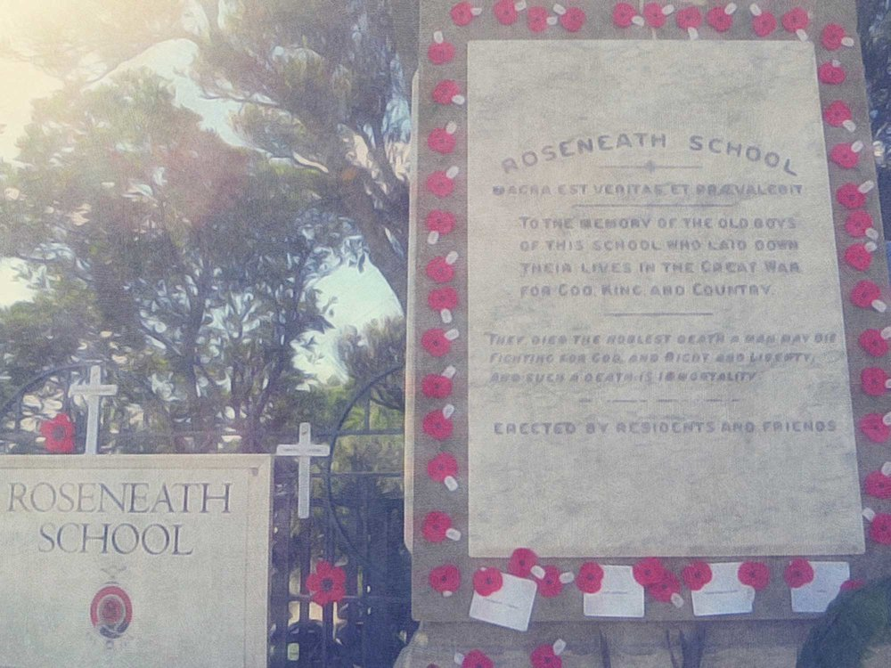 ANZAC Service at Roseneath Memorial 2015