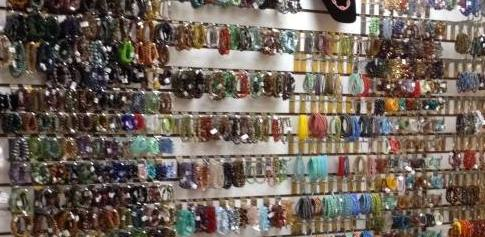 Chevere's Collection of Czech Glass Beads.  Chevere purchases all the Czech Glass and receives 6 Trunk Shows per year from Nirvana who supports organizations dedicated to improve society. Buy beads to help others. Your purchases help support different projects around the world.