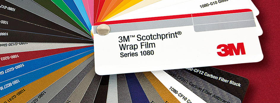WRAP MATERIAL COLOR CHART