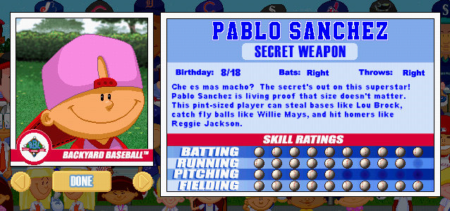After That They Started Making The Games For Other Systems Besides PC And  It Only Got Worse. From 2001 To 2010 Pablo Sanchez Went From This: