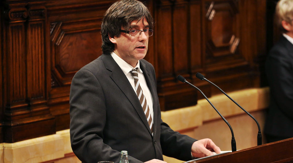 Carles Puigdemont, the president of the Generalitat in Catalonia, seeks to lead a peaceful independence movement in the region.