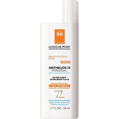 She also recommends La Roche-Posay Anthelios 50 Face Mineral.