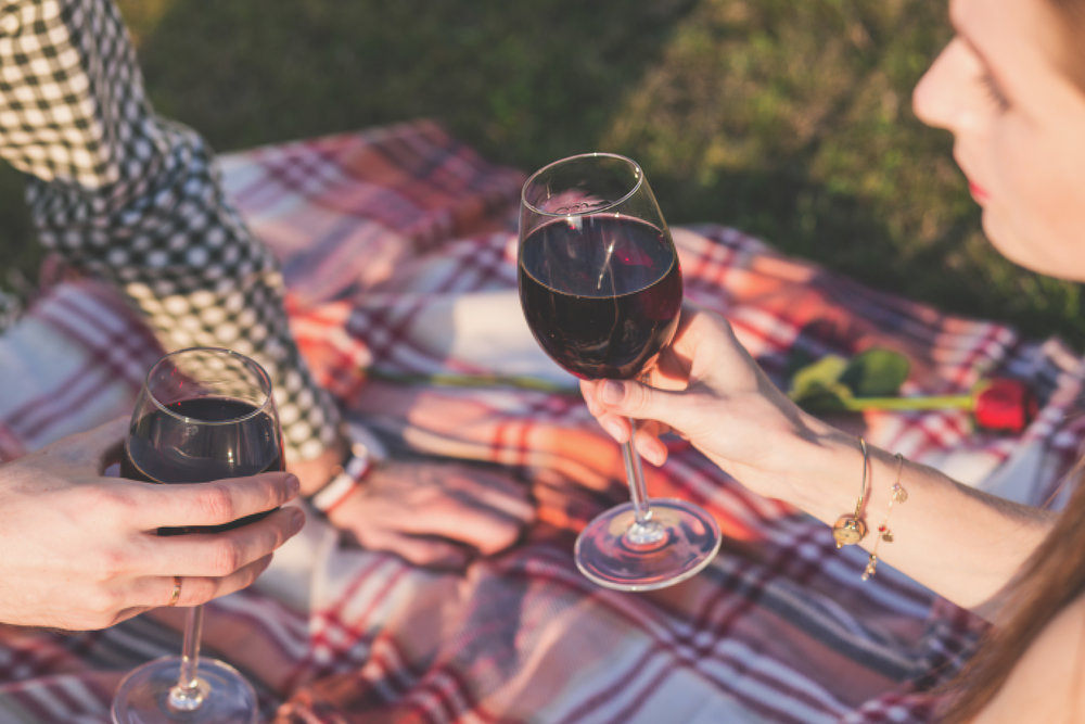 Bring food and wine to Cinespia at the Hollywood Forever Cemetery