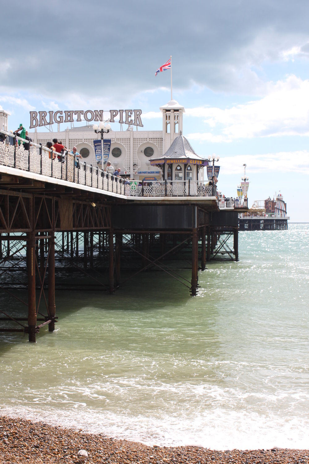 Brighton Pier, a popular destination in the city.