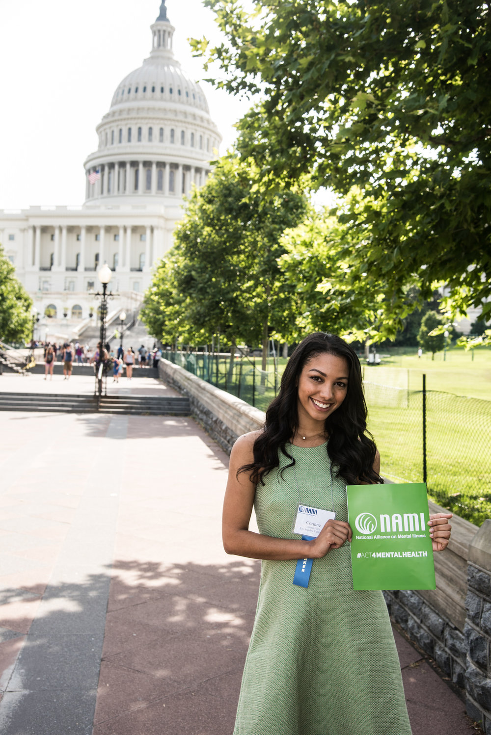 Arriving on Capitol Hill with NAMI