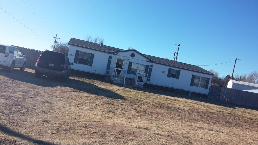 This was my parents home and mine for a few years in Lubbock, Texas. 1998  The American Dream escapes me.
