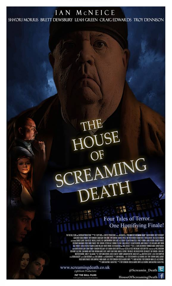 The House of Screaming Death (2017) official poster