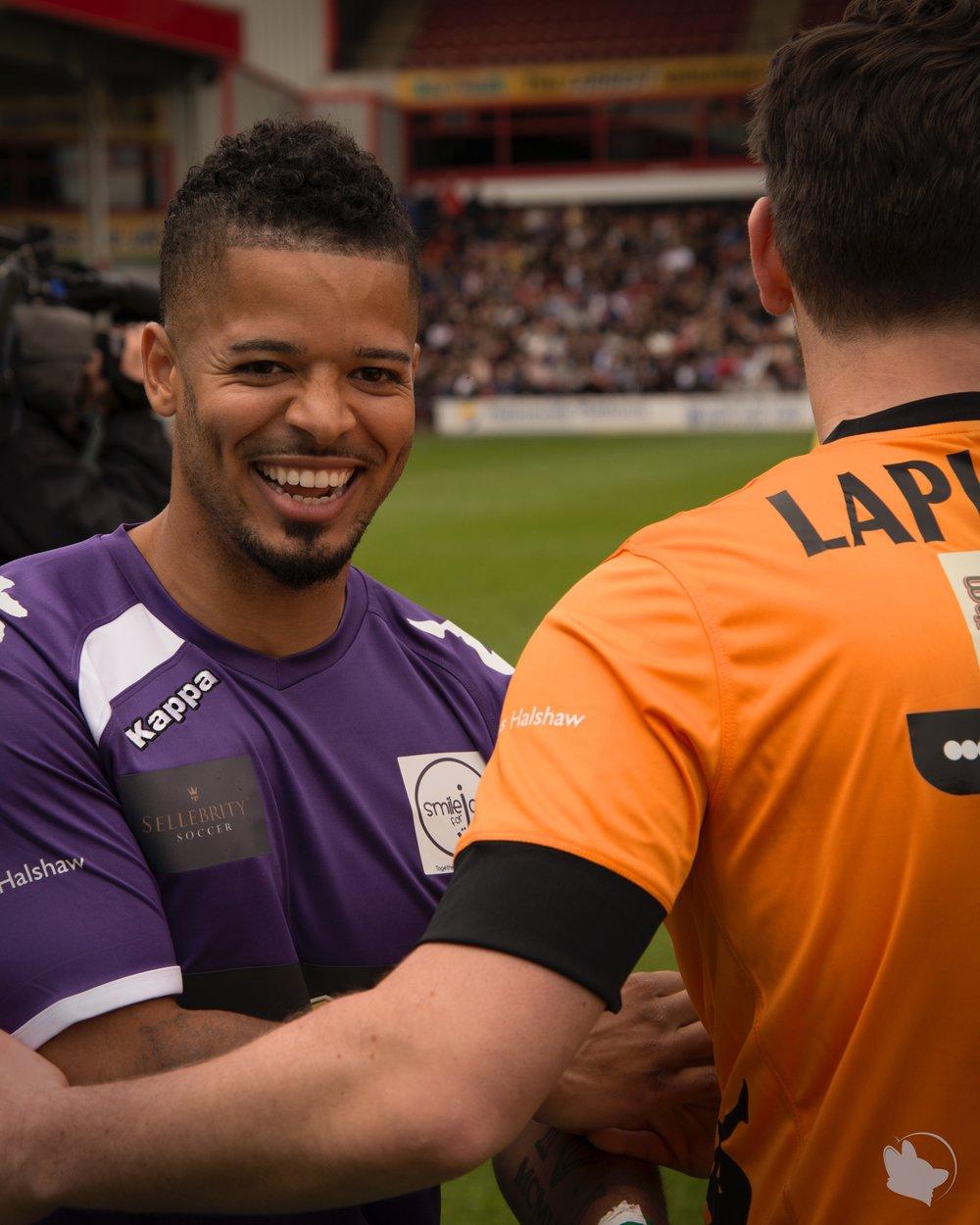 SmileForJoel Football Match