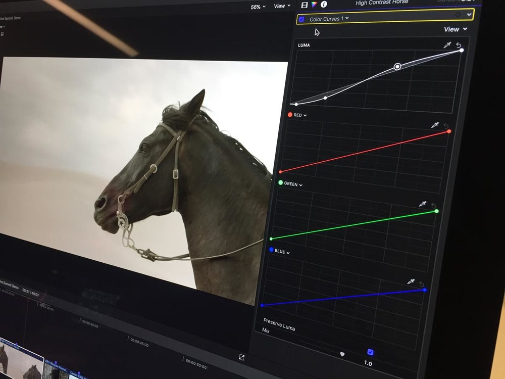 The new colour tools include colour wheels, LUT support and HSL curves. Image by Peter Wiggins.