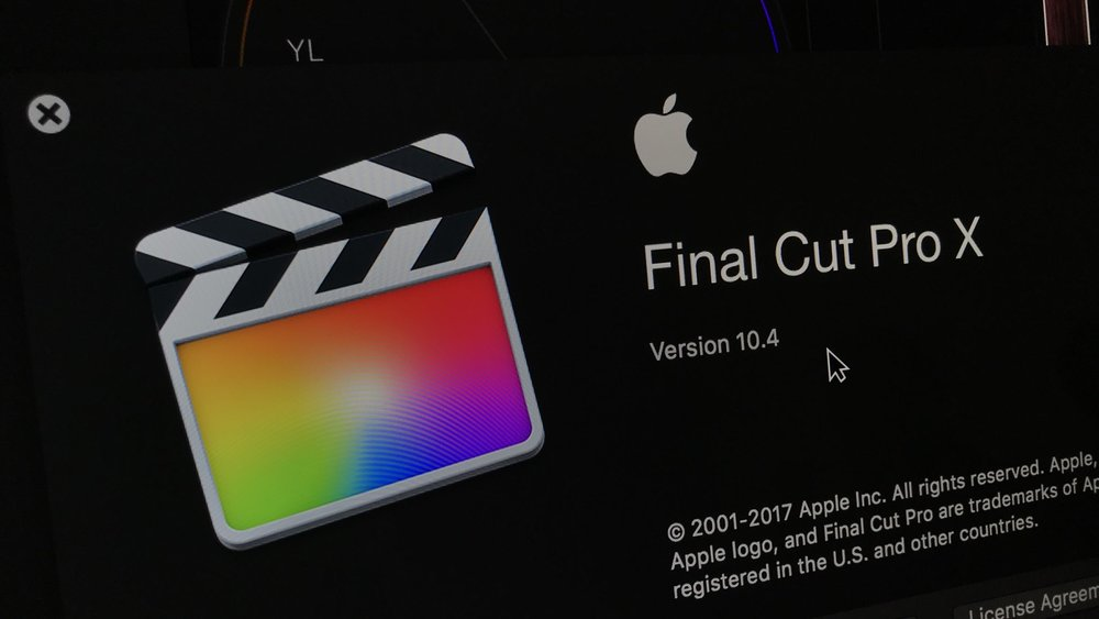 FCPX updated to version 10.4. Photo by Chris Fenwick.