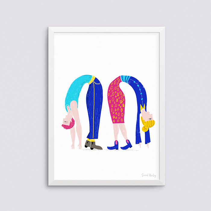 Flipside - Giclee A3 artprint