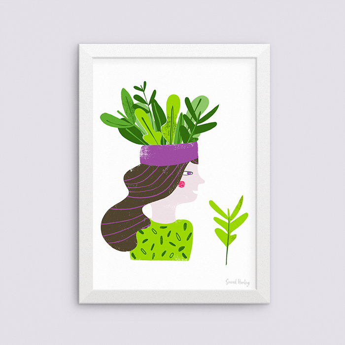 Jungle living - Giclee A3 artprint