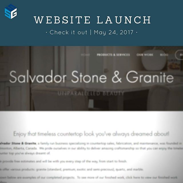 We're so excited to announce that our website will officially be open to the public on May 24, 2017! 👍  Come check it out! #linkinbio