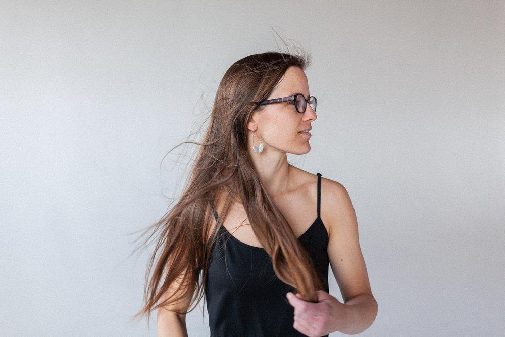 Amanda Green photographed by Ashley Thalman at Ultraviolet Studios