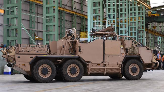Supacat Military Vehicles for Australia & New Zealand Defence