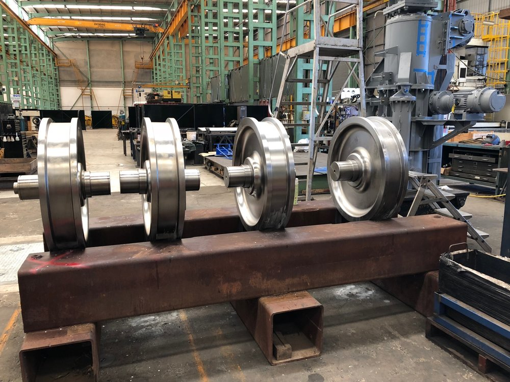 High Quality Bogie Wheels Manufactured by Baker & Provan