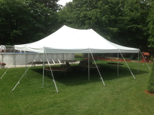 pole tent rental baraboo