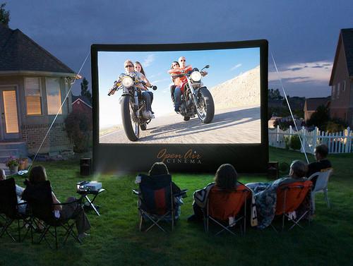 outdoor movie screen rental wisconsin dells