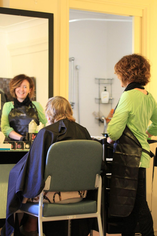 On-site hairdresser