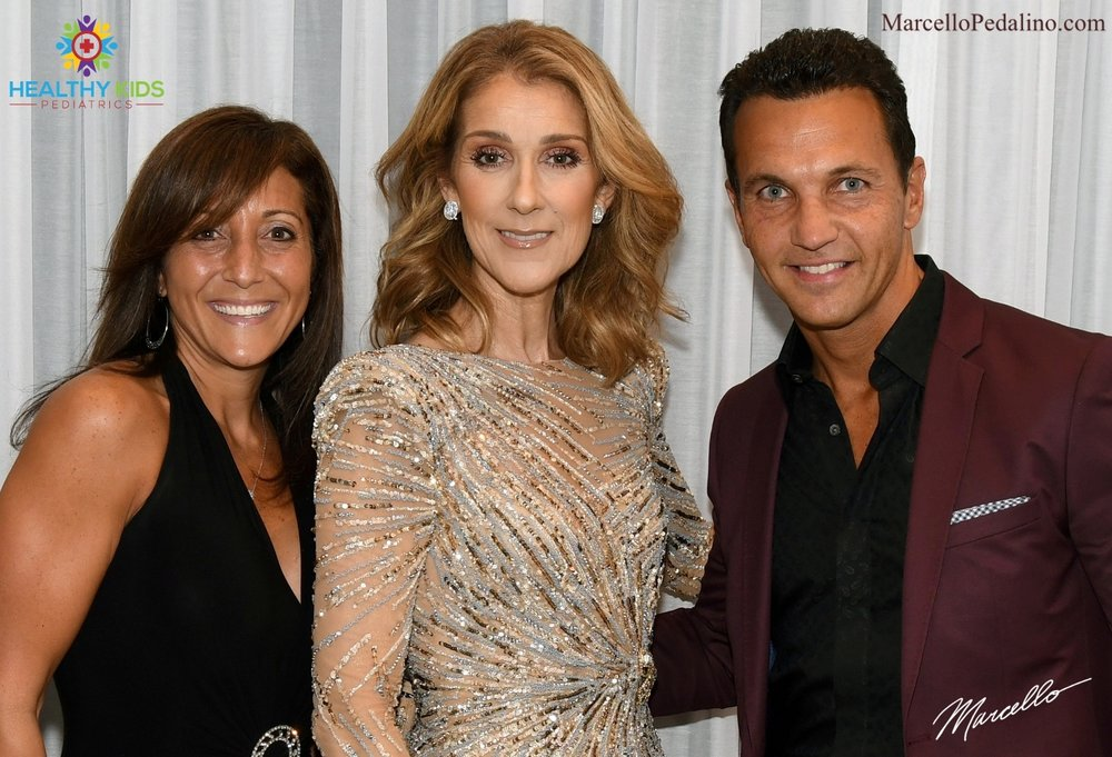 Marcello Pedalino, Celine Dion, Celebrate Life Book Tour, Dr. Jill Garripoli Pedalino