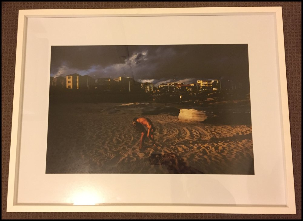 Andrew Quilty print - framed & signed.