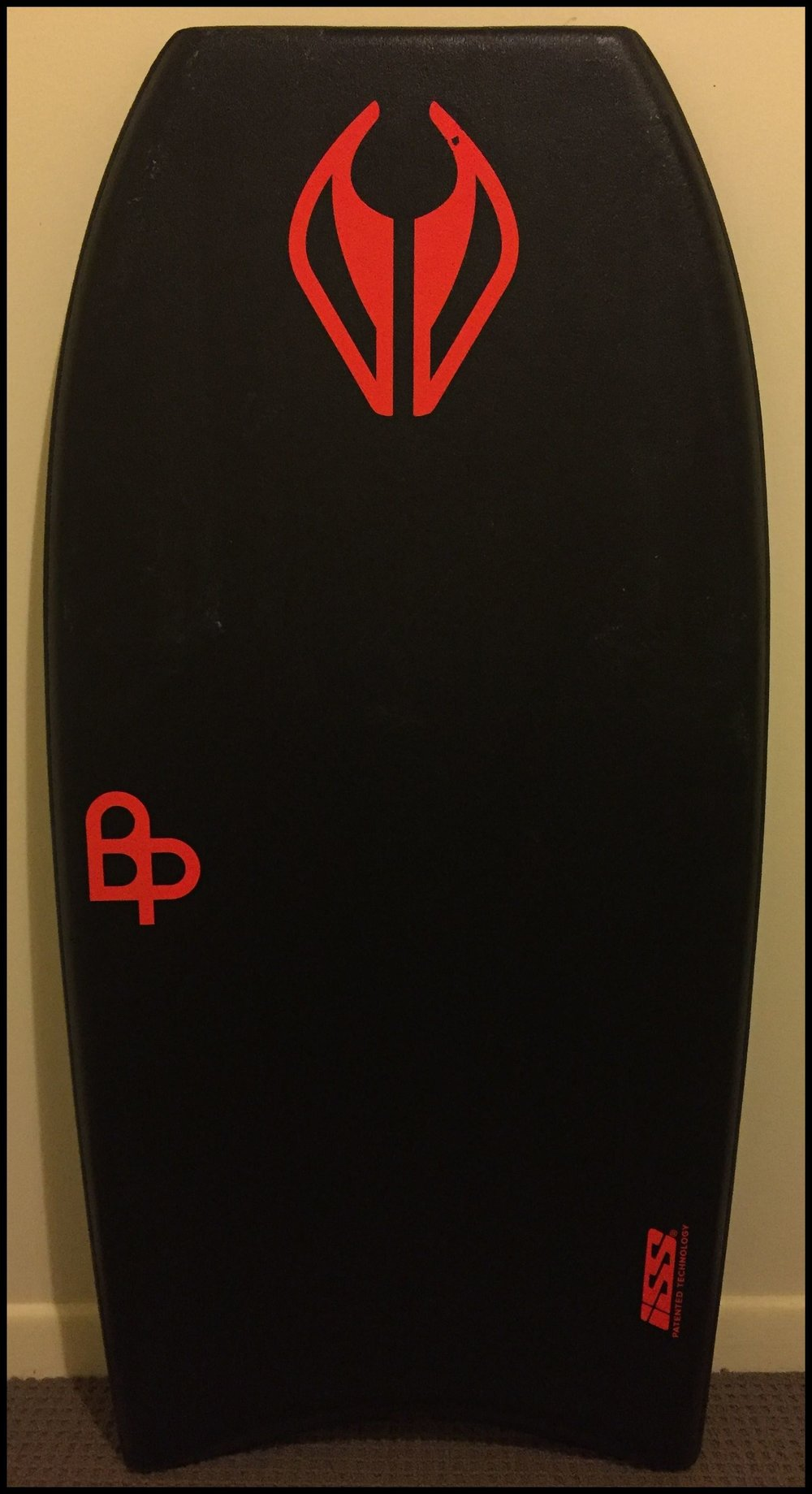 Ben Player's own board