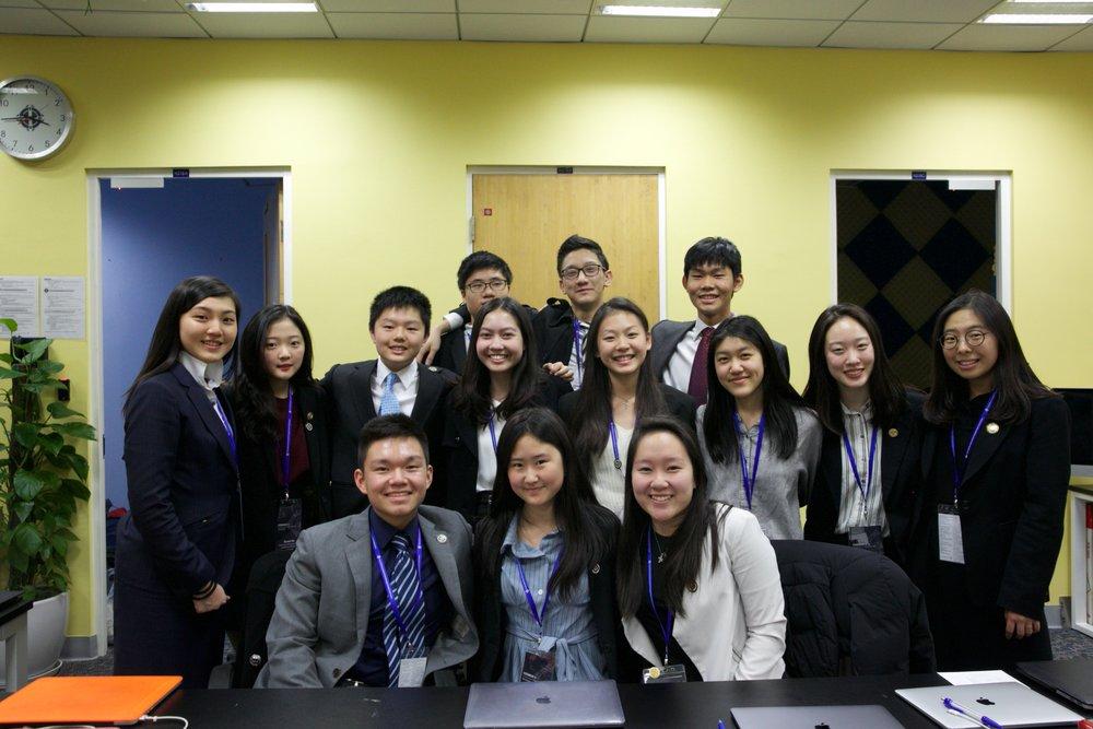 Members of the CISSMUN X Secretariat