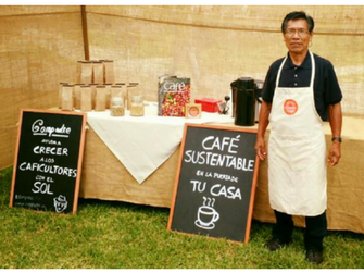 Cristobal is a coffee farmer that works with social enterprise Cafe Compadre in Peru