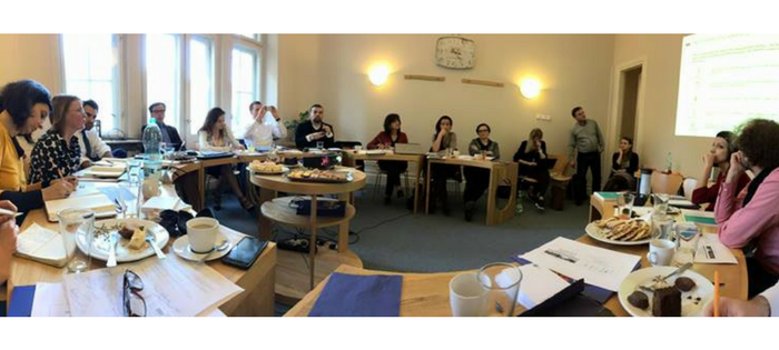 CEE Task Force Meeting (Photo Courtesy of Impact Hub Zagreb)