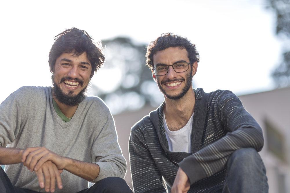 Lucas Corvacho (L) and Jonas Lessa (R).Photo Credit: Renato Stockler/Divulgação Folha de São Paulo