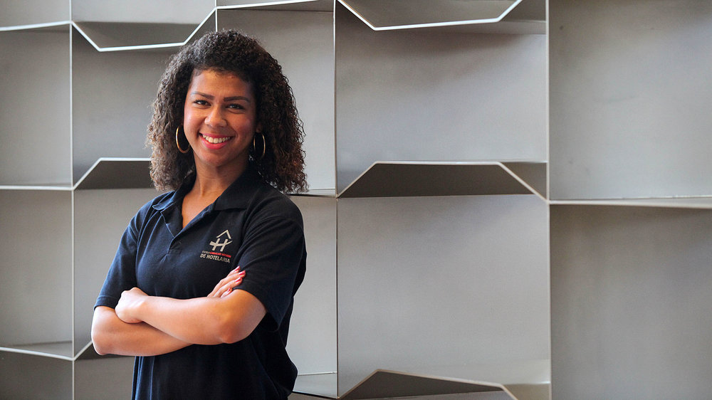 Você está ajudando os jovens a impulsionar suas carreiras no setor de hospitalidade? -