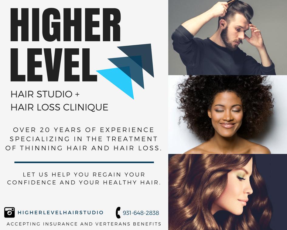 Black White Brown Curls Hair Design Salon Photo Collage.jpg