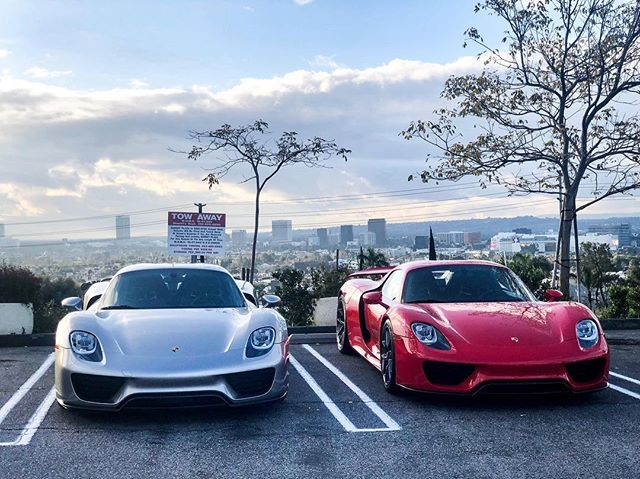 Sunset GT #PorscheTakeover Edition starts now!  It's not too late to register.  Link in bio. #SunsetGT #OGaraCoach #CuratorsOfExtraordinary #CarsAndCoffee #porsche #918 #918spyder #california #onlythebest