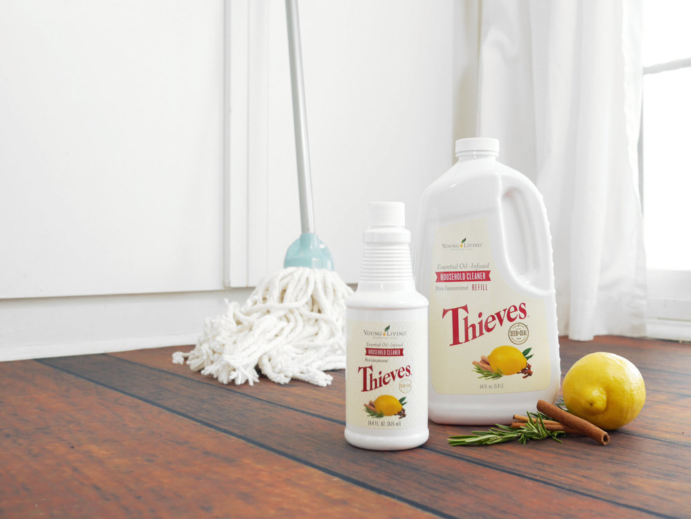 Six-Non-Toxic-Ways-to-Jumpstart-Your-Spring-Cleaning-With-Essential-Oils-Thieves-Household-Cleaner-Green-Wood-Floors-Kitchen-Tubs-Bathroom.JPG