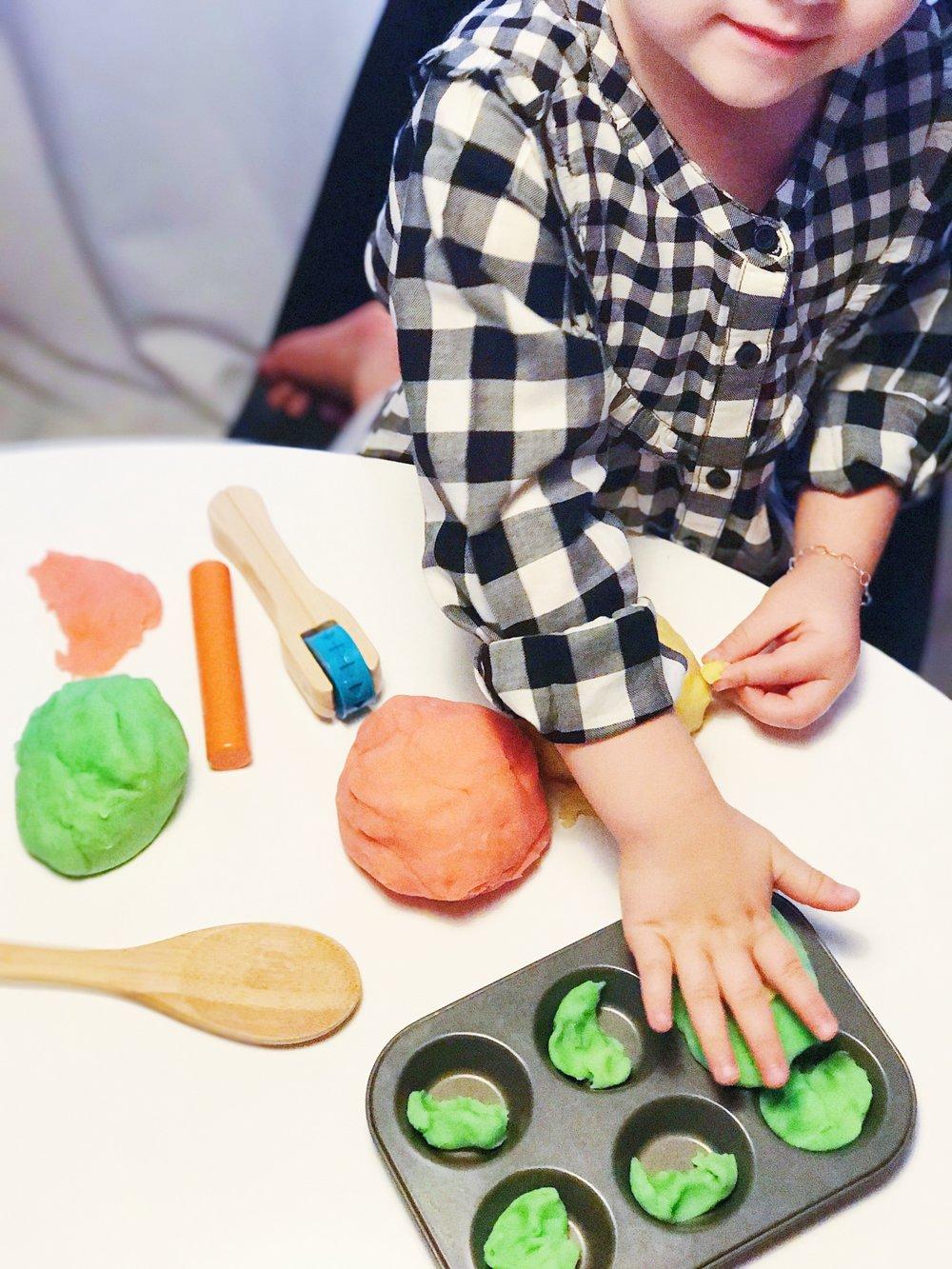 Homemade DIY Aroma Play Dough Recipe For Kids Made With Essential ...
