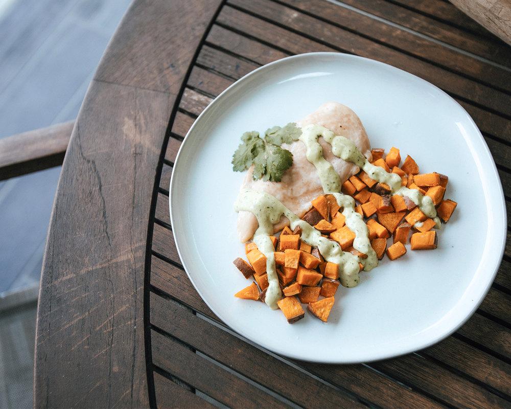 The-Oily-Home-Companion-Recipe-Chicken-Cilantro-Sweet-Potato-Avocado-Dairy-Free-Cream-Coconut-Milk-Lime-Vitality-Essential-Oil.jpg