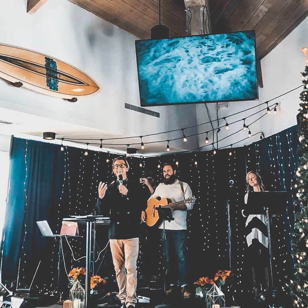 a place to belong - In our venue we have the Upper Room Church meeting on Sunday morning, where members come together for the service and for fellowship. Feel free to swing by and join the event and introduce yourself to the welcoming leadership!