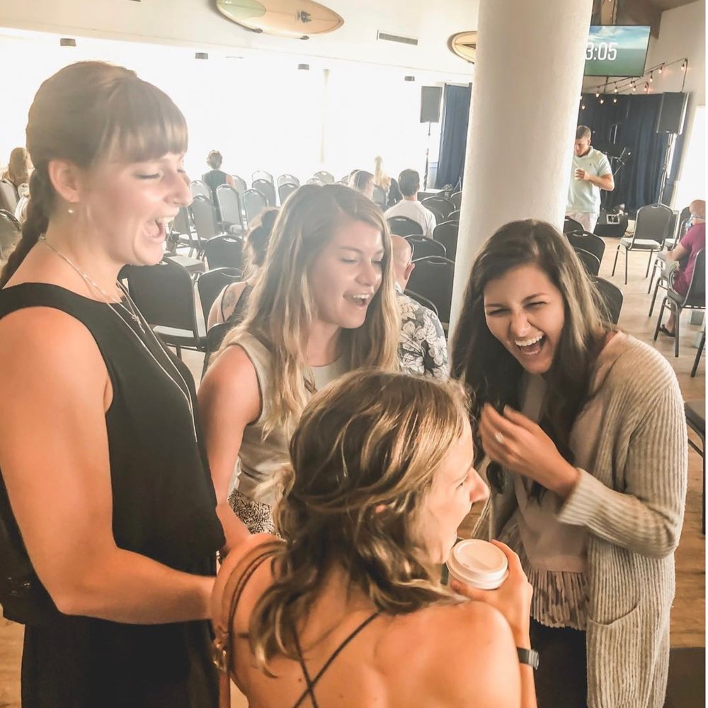 a place to celebrate - We like a good party. If you have a birthday celebration, baby shower, corporate celebration, concert, or any event that might be a good time, the Upper Room is the place to host it. Connect with us today about rates and availability!