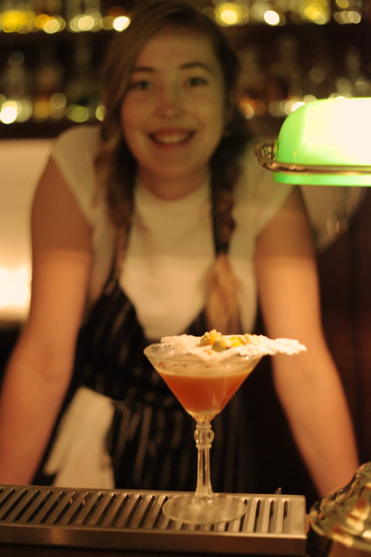 Maria Kabal and the Butress. Photo credit Eva Otsing.JPG