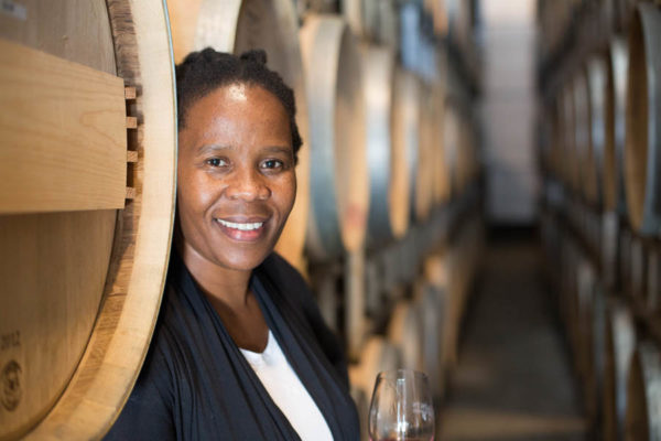 Winemaker Ntsiki Biyela of Aslina Wines