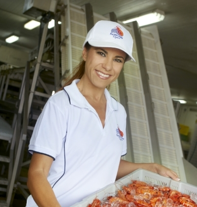 Maria Mitris-Honos with prawns.jpg